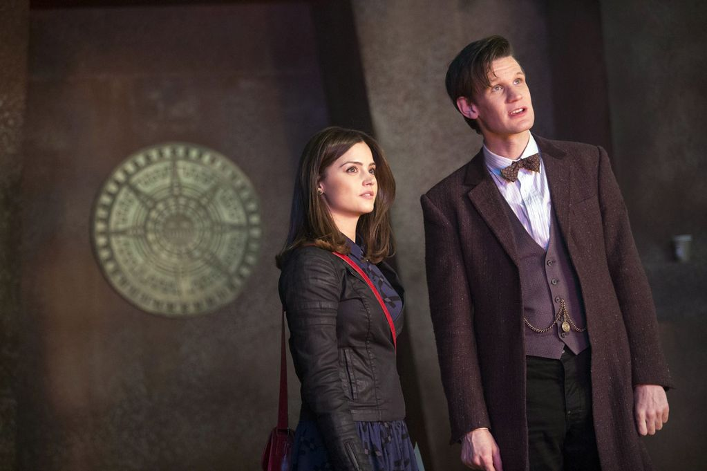 shft-17-Doctor Who - Jenna-Louise Coleman and Matt Smith-1745993