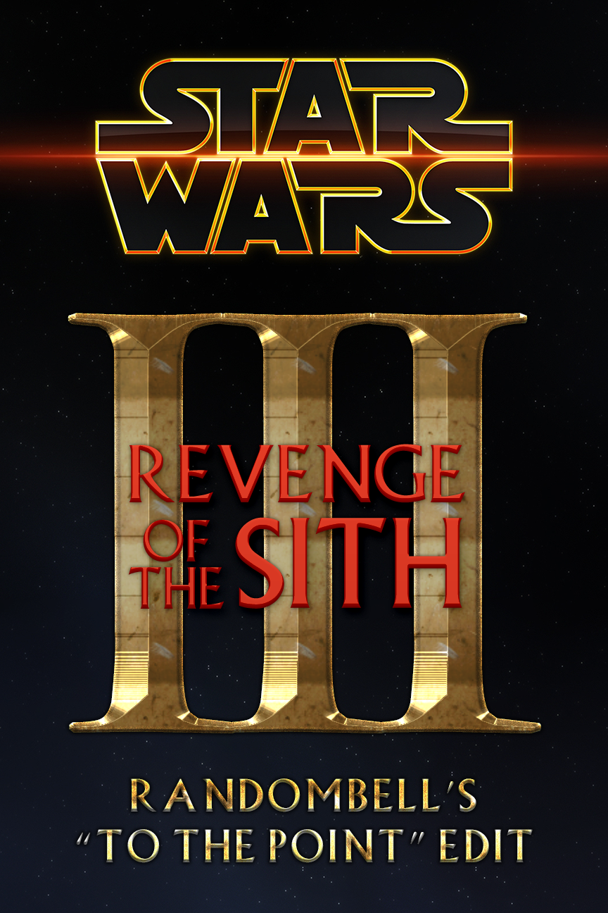 Star Wars Episode Iii Revenge Of The Sith To The Point Edit Ghost Hat Media
